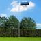 vidaXL Bandiera dell'Estonia con Pennone in Alluminio 6,2 m