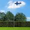 vidaXL Bandiera della Finlandia con Pennone in Alluminio 6,2 m