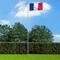 vidaXL Bandiera della Francia con Pennone in Alluminio 6,2 m