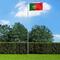 vidaXL Bandiera del Portogallo con Pennone in Alluminio 6,2 m