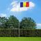 vidaXL Bandiera della Romania con Pennone in Alluminio 6,2 m