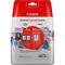 CANON Value Pack Blister 4x6 Phot Paper GP-501 50sheets + XL Black & XL Colour Cartridges