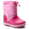 Stivali da neve CROCS - Crocband Lodgepoint Boot K 203509 Candy Pink/Party Pink