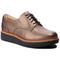 Oxfords CLARKS - Teadale Rhela 261296114  Pewter Leather