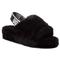 Pantofole UGG - W Fluff Yeah Slide 1095119 W/Blk