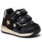 Sneakers GEOX - B Rishon G. A B940LA 07702 C0495 Black/Gold