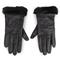 Guanti da donna UGG - W Classic Leather Logo Glove 19034 Black