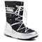 Stivali da neve MOON BOOT - Jr Girlq. Universe Wp 34052100001 Silver/Black