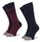 Set di 2 paia di calzini lunghi da uomo EMPORIO ARMANI - 302302 9A293 14335 r. 39-46 Blu/R...