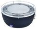 Master BBQ barbecue per l'aperto e bistecchiera Antracite Da tavolo Blu, Metallico