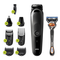 Braun MGK5260 All-in-One Trimmer 5 - Regolabarba, Styling Kit 8-in-1, con Gillette Fusion...