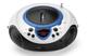 Lenco SCD-38 USB Analogico Blu