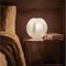 Lampada da tavolo, abat Jour, in metacrilato ALLEGRETTA 24x24xh26 cm con paralume colore b...