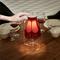 Lampada da Tavolo Ricaricabile in polipropilene trasparente 20x16xh36 cm - LED 4W 3000 k A...