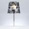 Lampada da tavolo abat-jour diametro 31xh57 cm BABETTE 1xE27 Max 25W Nero