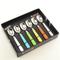 Set Cucchiaini da Gelato 6 pezzi 6 colori BRIO in acciaio 18/C in confezione Regalo Colori