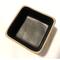 Ciotola alta M 1 in Grès Linea GAME resistente al calore 10x10xh6 cm Colore nero