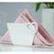 Portatovaglioli verticale METACRILATO LOVE 9x6xh4 cm bicolore Bianco
