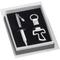 Penna a sfera più porta chiavi argento TAO in scatola regalo, 15x15xh3 cm confezione bombo...
