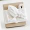 Icona per cresima e comunione Cresima in resina bianca 7x7cm in scatola regalo , bombonier...