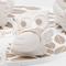 Gufo Fiore per cresima e comunione in resina Bianca h 6 cm in scatola regalo , bomboniera