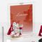Porta foto Gufo Libro e pergamena per Laurea in resina particolari rossi 10x15cm cm in sca...